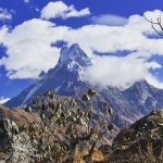 Short route with astounding views of Machhapuchre and Mardi on North Nepal's Mardi Himal Trek 9 days package